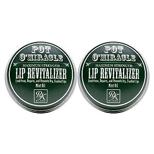 Ruby Kisses Pot O' Miracle Maximum Strength Lip Revitalizer RB01 (2 Pack)