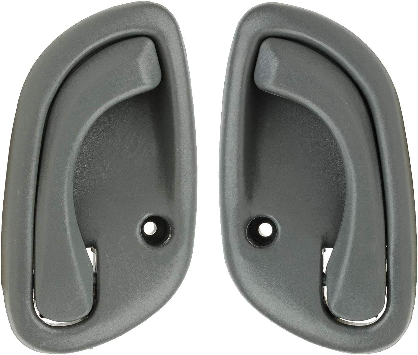 Set of 2 Gray Inside Door Handle for 99-05 Tracker Grand Vitara Esteem LH /& RH