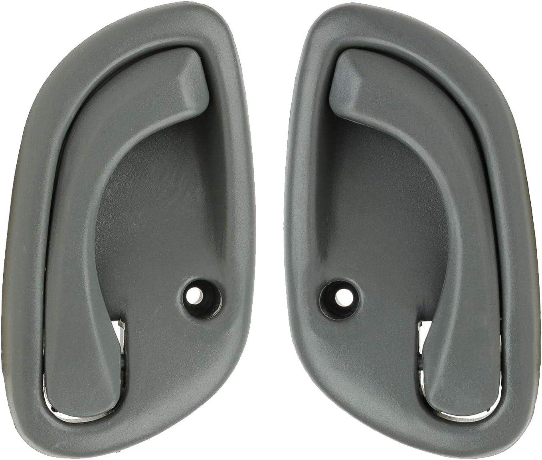 Set of 2 Gray Inside Door Handle for 99-05 Tracker Grand Vitara Esteem LH /& RH