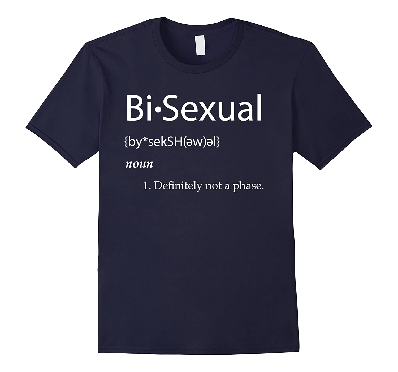 Bi-Sexual Definition T-Shirt LGNT Gay Pride Community Shirts-CD
