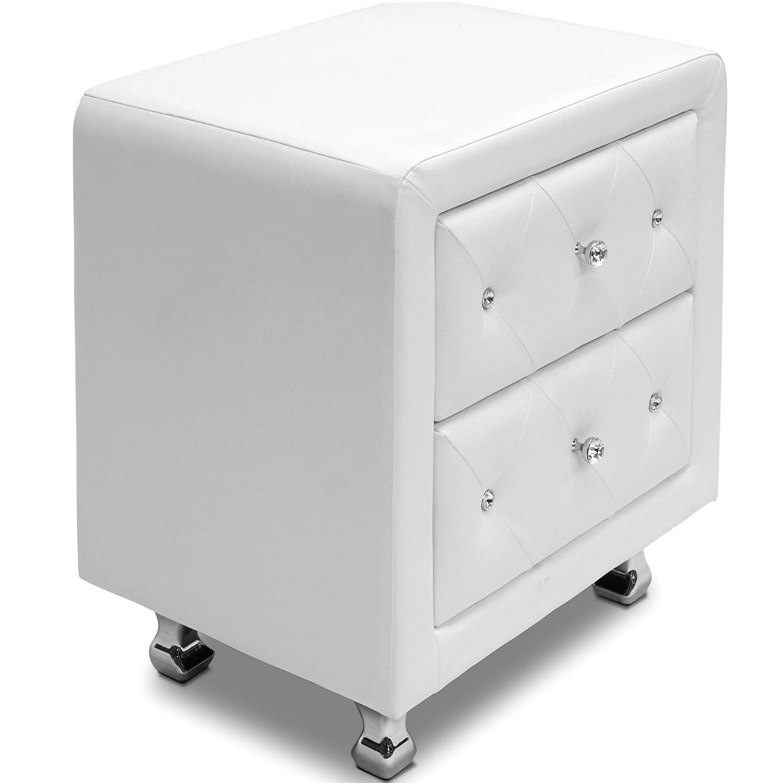Amazon.com: Baxton Studio Stella Crystal Tufted Upholstered Modern ...