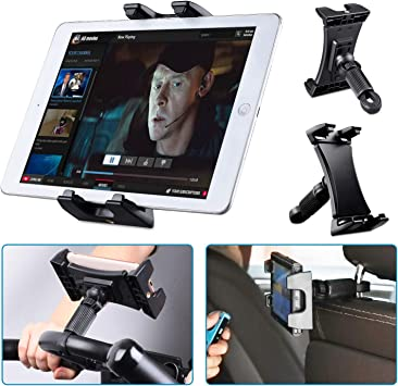 Tendak Soporte de bicicleta giratoria ajustable de 360 ° para iPad Pro, iPad Mini y iPad Air 12.9
