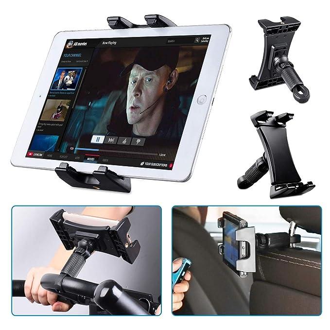 Tendak Soporte de bicicleta giratoria ajustable de 360 ° para iPad ...