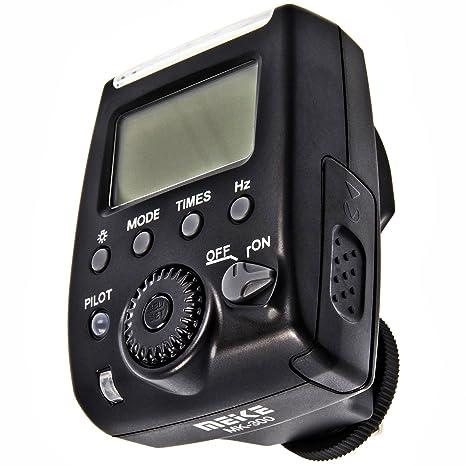Para principiantes I-TTL flash Meike MK-300 (LZ 32) para Nikon ...