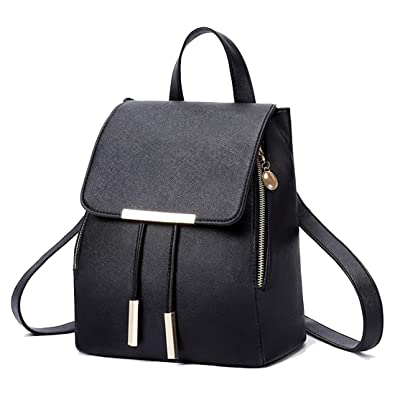 49b8f92eb02a Amazon.com  Casual Leather Backpack