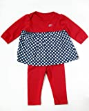 Lakeshore Baby Girls Lakeshore Legging Red - 0-3