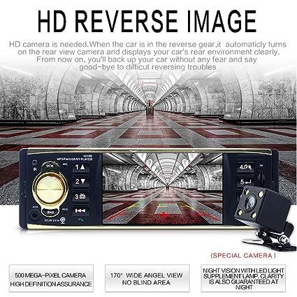 Amazon com: Autoradio Car Radio 1Din car Stereo Player Bluetooth