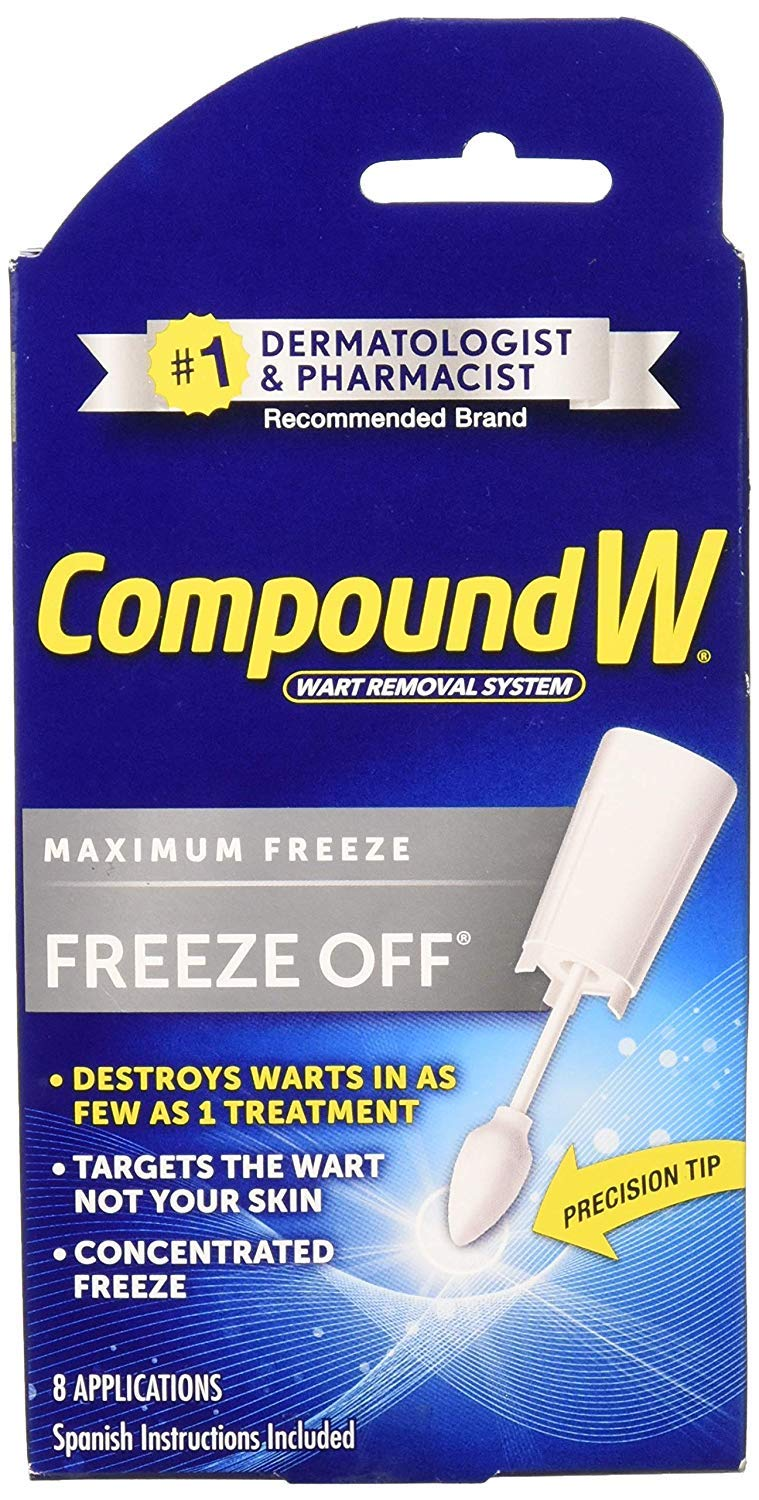Compound W Freeze Off Wart Remover-8 applications (Special Edition) by Compound W