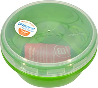 product image for Preserve Large Food Storage Container - Green - Case of 12 - 25.5 oz