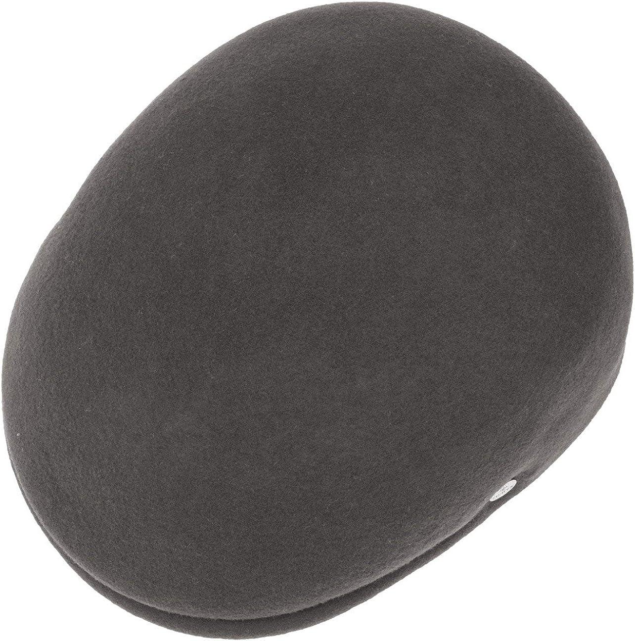 M/ütze Made in Italy Lierys Outdoor Flatcap aus Wollfilz Herren Sportm/ütze Herbst//Winter Schieberm/ütze Flatcap Wasserabweisend /& Packable