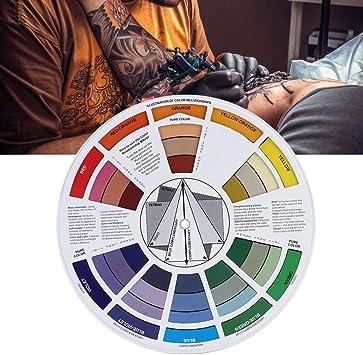Rueda de color, guías de mezcla de color Rueda de color de tinta ...