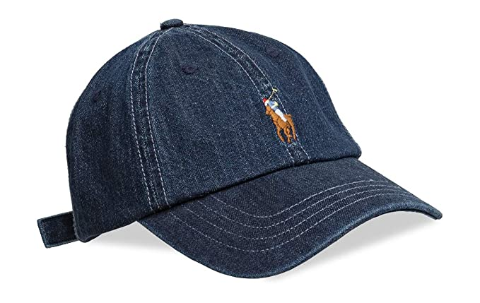 Gorra Curva POLO RALPH LAUREN Denim Unica Azul