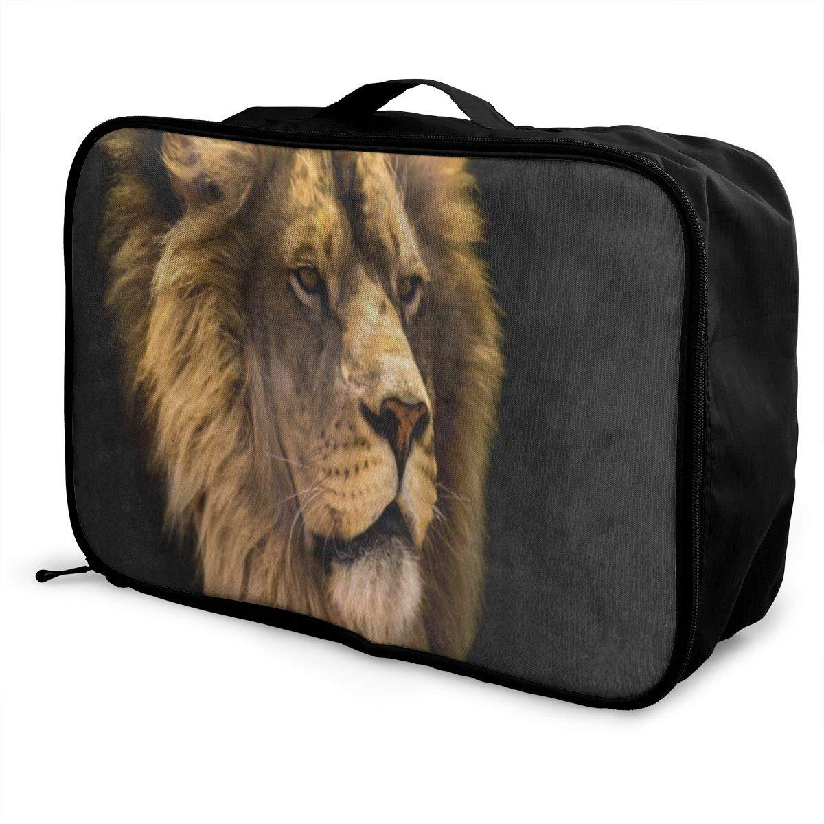 Luggage Bag Travel Duffel Bag Waterproof Seahorse Barrier Reef Lightweight Large Capacity Portable Storage Bag