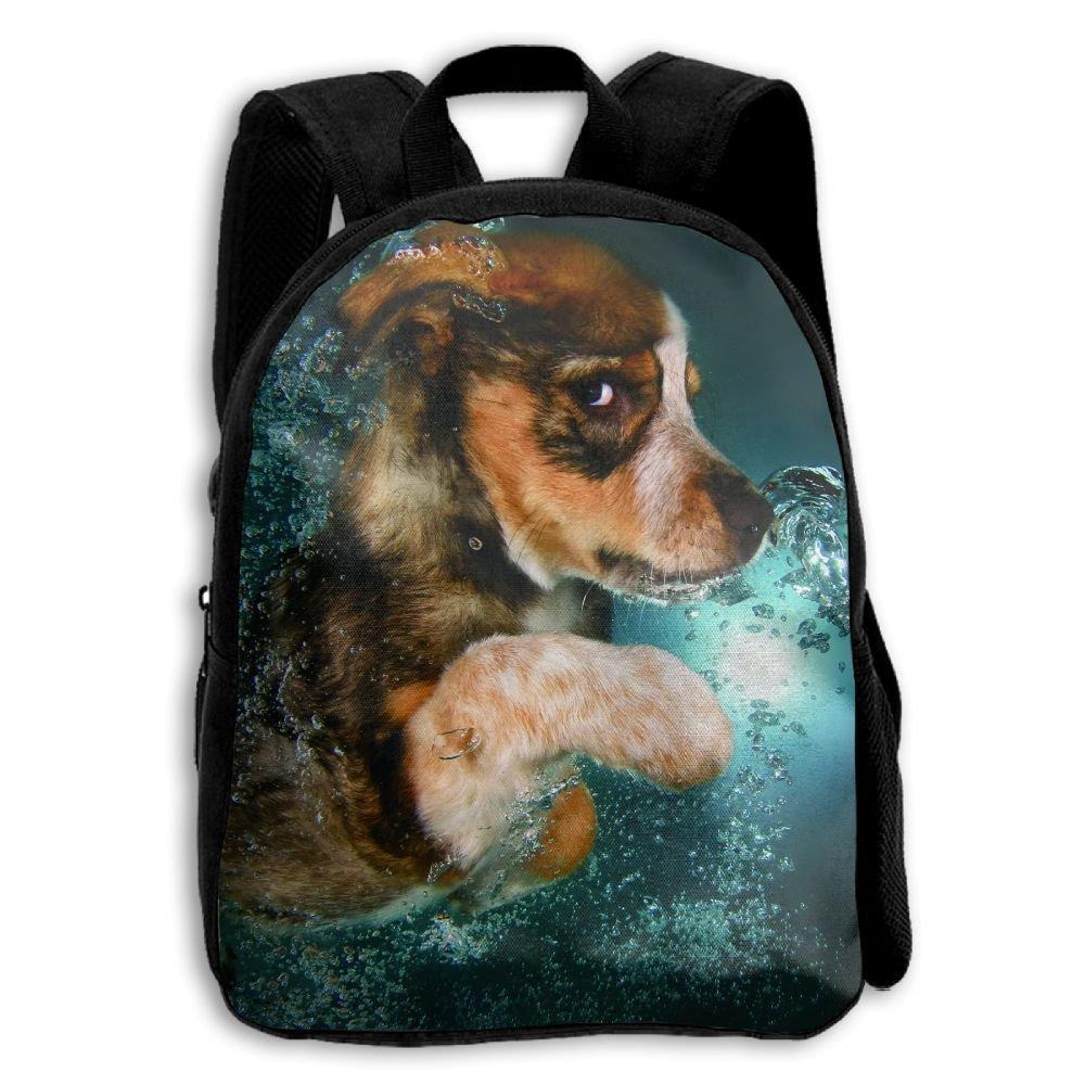 Limin Puppy On The Waterを印刷耐久性Kid 'sミニバックパック B07CG5NDG6