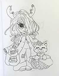 Lacy Sunshine's Rory Sweet Urchin Coloring Book Volume 2: Fun Whimsical Big Eyed