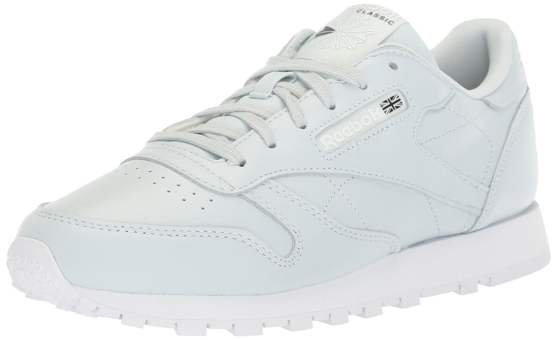 Reebok Women's Cl Lthr X Face Walking Shoe B071FVCPV6 9.5 B(M) US|Reflection Blue/White/Black