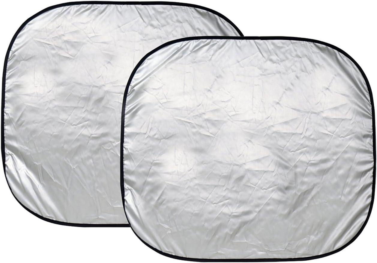 Custom Accessories 17951 28 1//2-Inch x 31 1//2-Inch Nylon Loop Solar Shield Sunshade 2 Piece