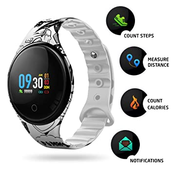 Motus Color Smartwatch [Destaque de los demás] Fitness con ...