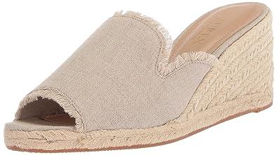 0df9c11e6 Lauren Ralph Lauren Women s CARLYNDA Espadrille Wedge Sandal Flax 6 ...
