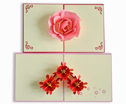 Handmade Pop Up Cards For Birthday Anniversary All Occasions