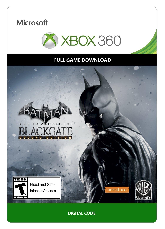 Batman: Arkham Origins Blackgate - Deluxe - Xbox 360 Digital Code