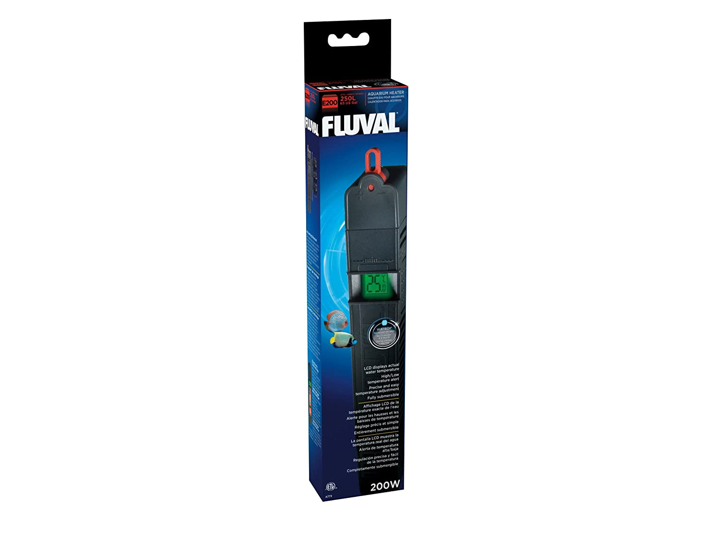 A773 Fluval E 200 Watt; LCD Heizer mit Themparatur-Anzeiger, für bis zu 250 L: Amazon.es: Productos para mascotas