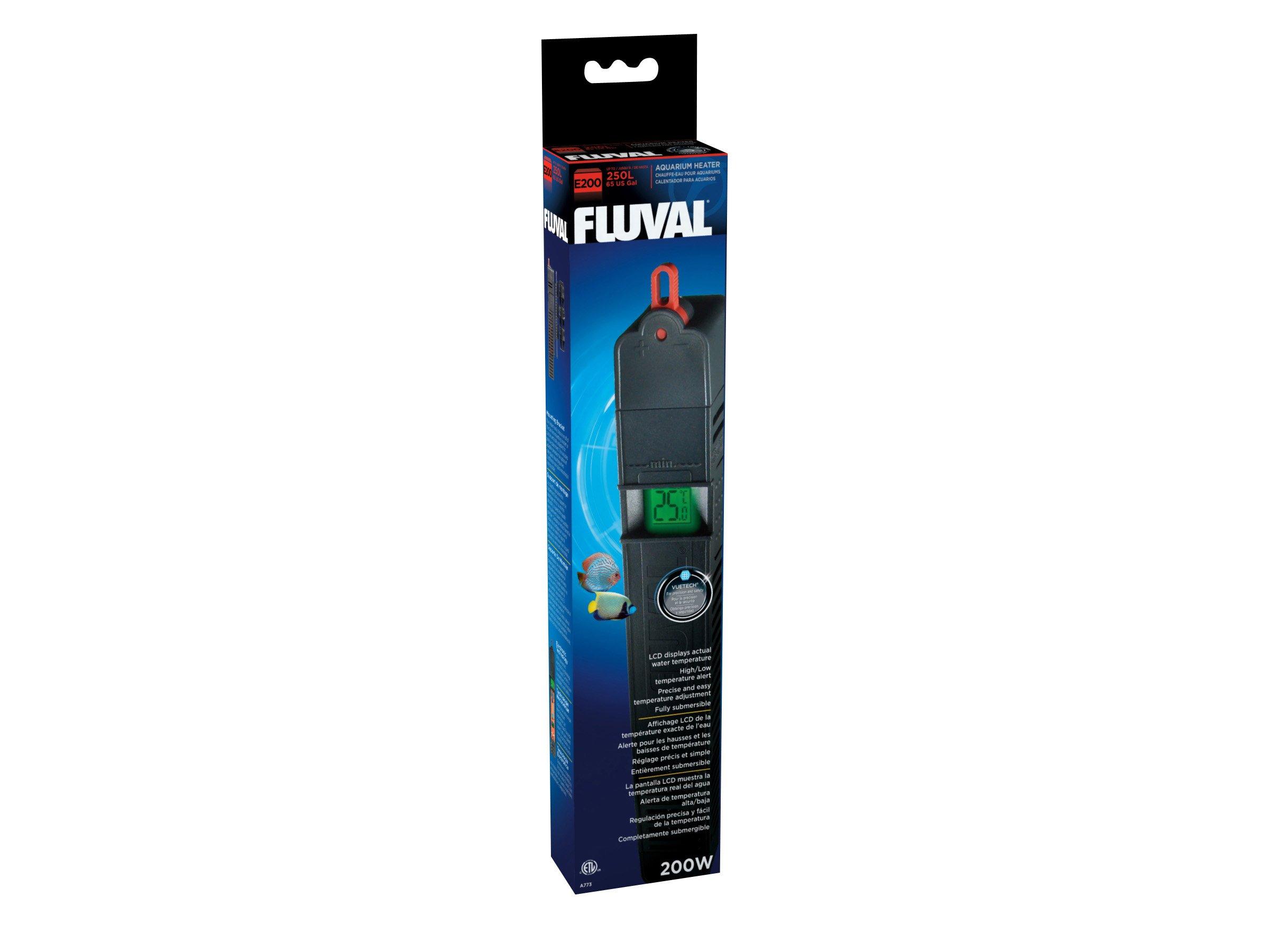 Fluval E 200-Watt Electronic Heater