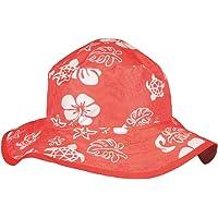 Baby Banz 11082 Banz 50+ UV Koruma Çift Taraflı Güneş Şapkası, Kırmızı