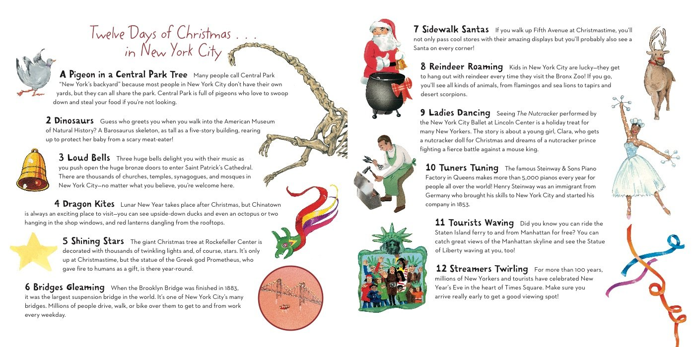 The Twelve Days of Christmas in New York City (The Twelve Days of ...