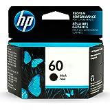 HP 60 | Ink Cartridge | Black | Works with HP DeskJet D2500 Series, F2430, F4200 Series, F4400 Series, HP ENVY 100, 110, 111,