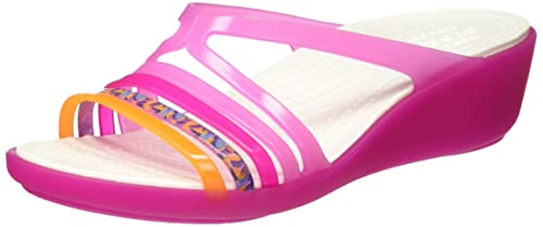edc812682a06 Crocs Isabella Mini Women Wedge in Pink  Buy Online at Low Prices in ...