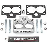 BlackPath - Grand Cherokee ZJ WJ Throttle Body Spacer Kit Jeep ZJ 5.2L + 5.9L Engines (Silver) T6 Billet