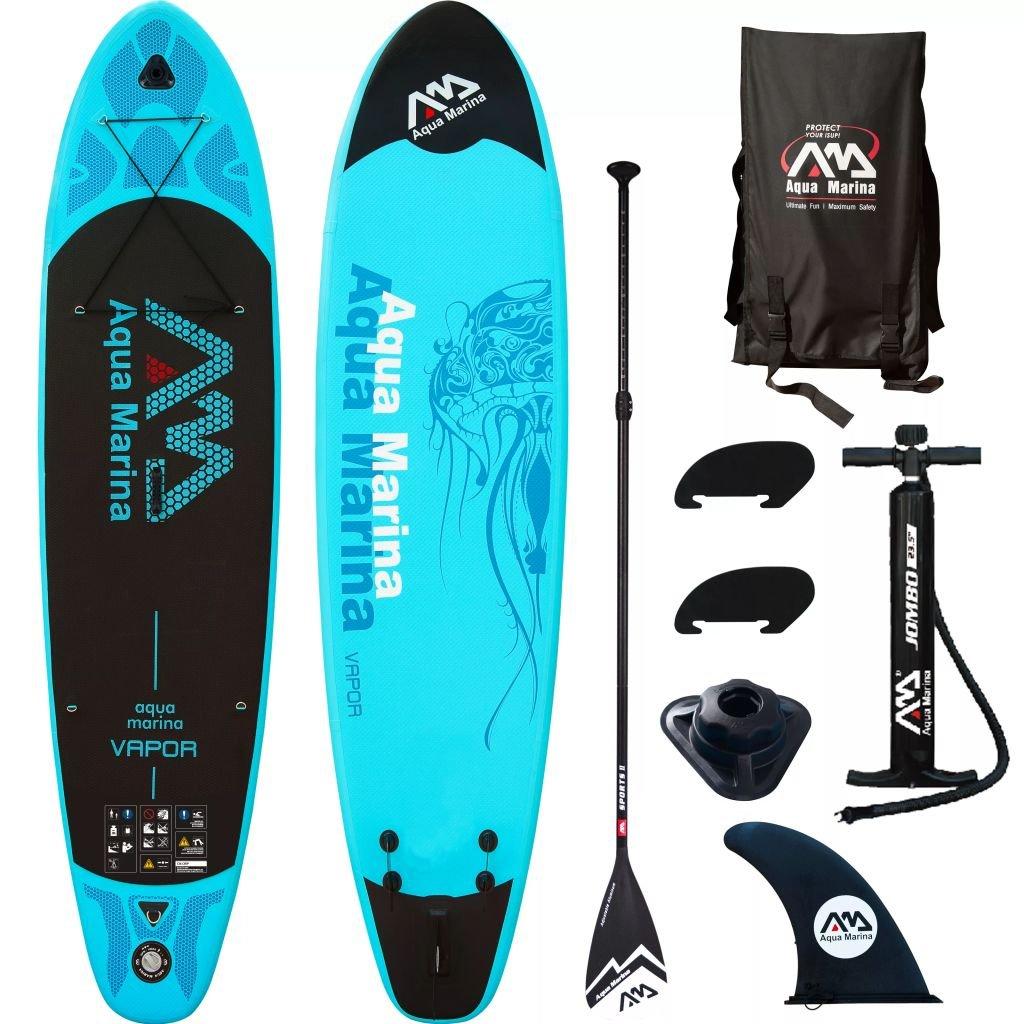 Luckyfu Tabla de Surf con Diseño Moderno para Actividades Deportivas y Actividades al Aire Libre con Tabla de Surf Aqua Marina Sup, 330 x 75 x 10 cm, ...