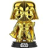 Funko FU37639 POP! Star Wars: #157 Chrome Darth Vader Bobblehead Figure