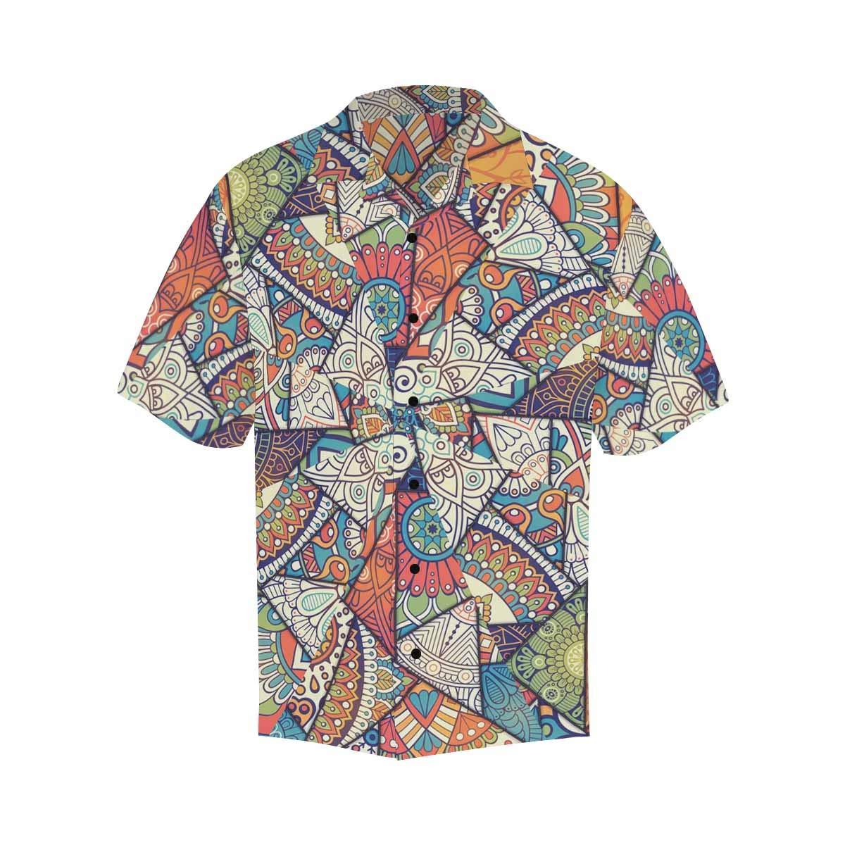 InterestPrint Mens Shirt Paris Landmark Printed Mens T-Shirts