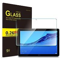 IVSO Huawei Mediapad T5 10 Pellicola Protettiva, Pellicola Protettiva Schermo in Vetro Temperato per Huawei Mediapad T5 10.1 Pollici 2018 Tablet (1 Pack)