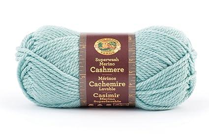 d223a62b510 Lion Brand Yarn 821-123N Superwash Merino Cashmere Yarn