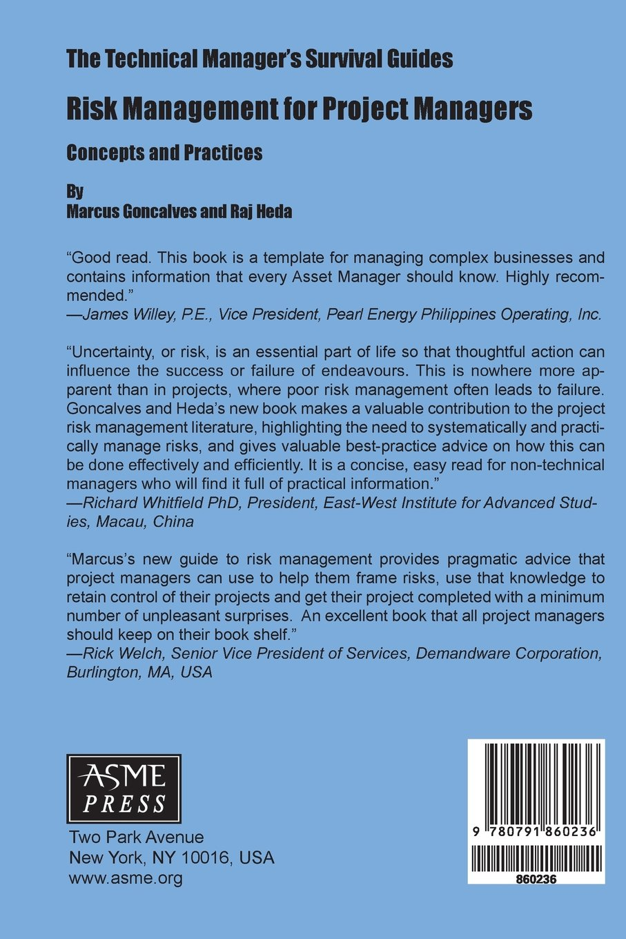 Buy Risk Management for Project Managers: Concepts and Practices