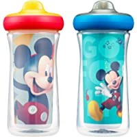 2-Pack The First Years Disney Mickey Mouse Insulated Hard Spout Sippy Cups