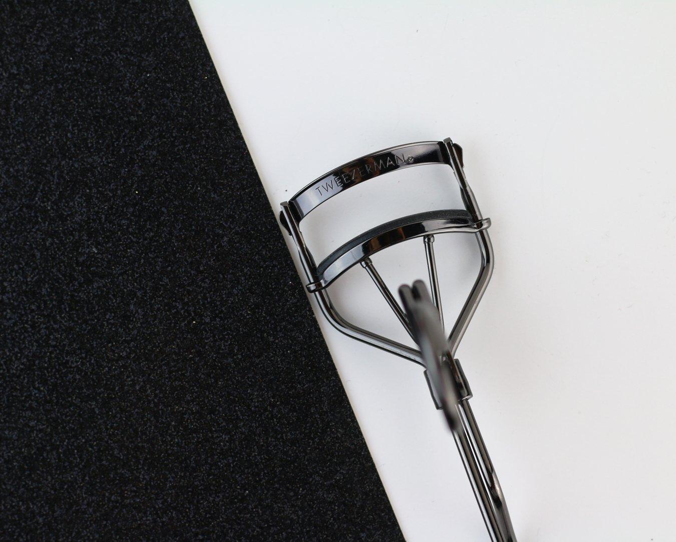 Tweezerman Studio Collection Promaster rizador de pestañas con extra ancha Alicate para mandelförmige Ojos - Incluye 3 almohadillas: Amazon.es: Belleza