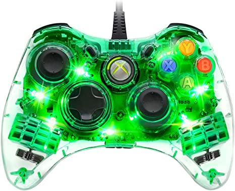 PDP - Controller Afterglow Con Cable V2 (Xbox 360): Amazon.es ...