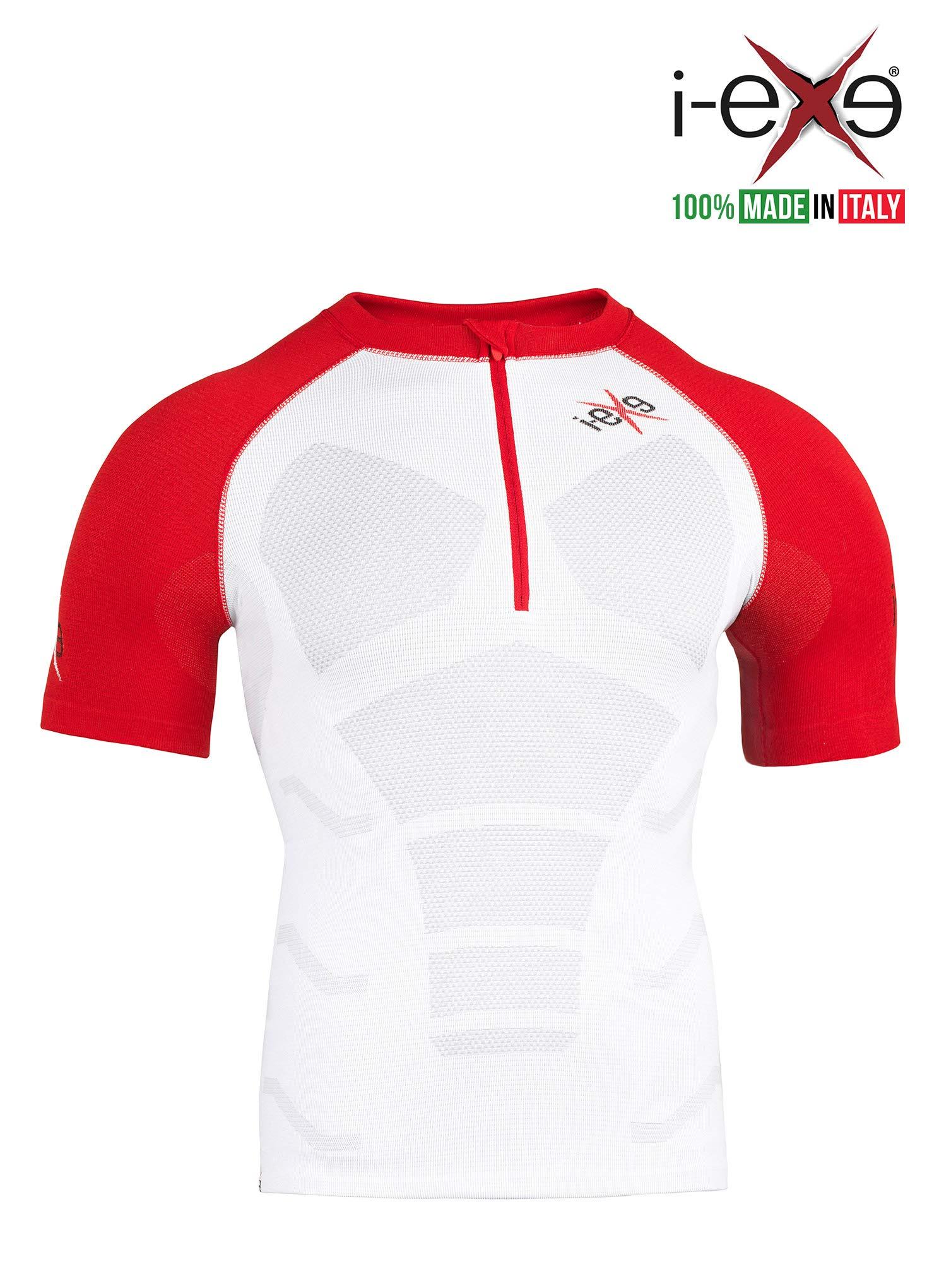 I-EXE Mens T-Shirt. Color: White, Size: Small/Medium