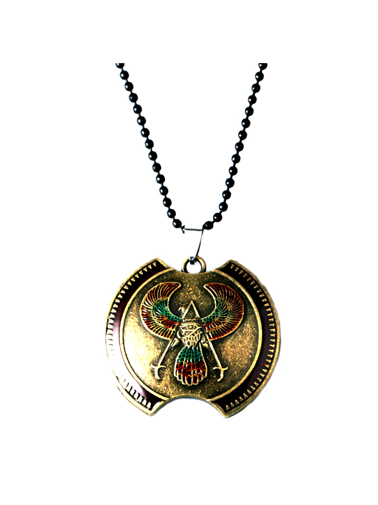 Assassin's Creed Origins Pendant Necklace Character Cartoon Superhero Gaming Console PC Games Logo Theme Cosplay Premium Quality Detailed Jewelry Gift Series