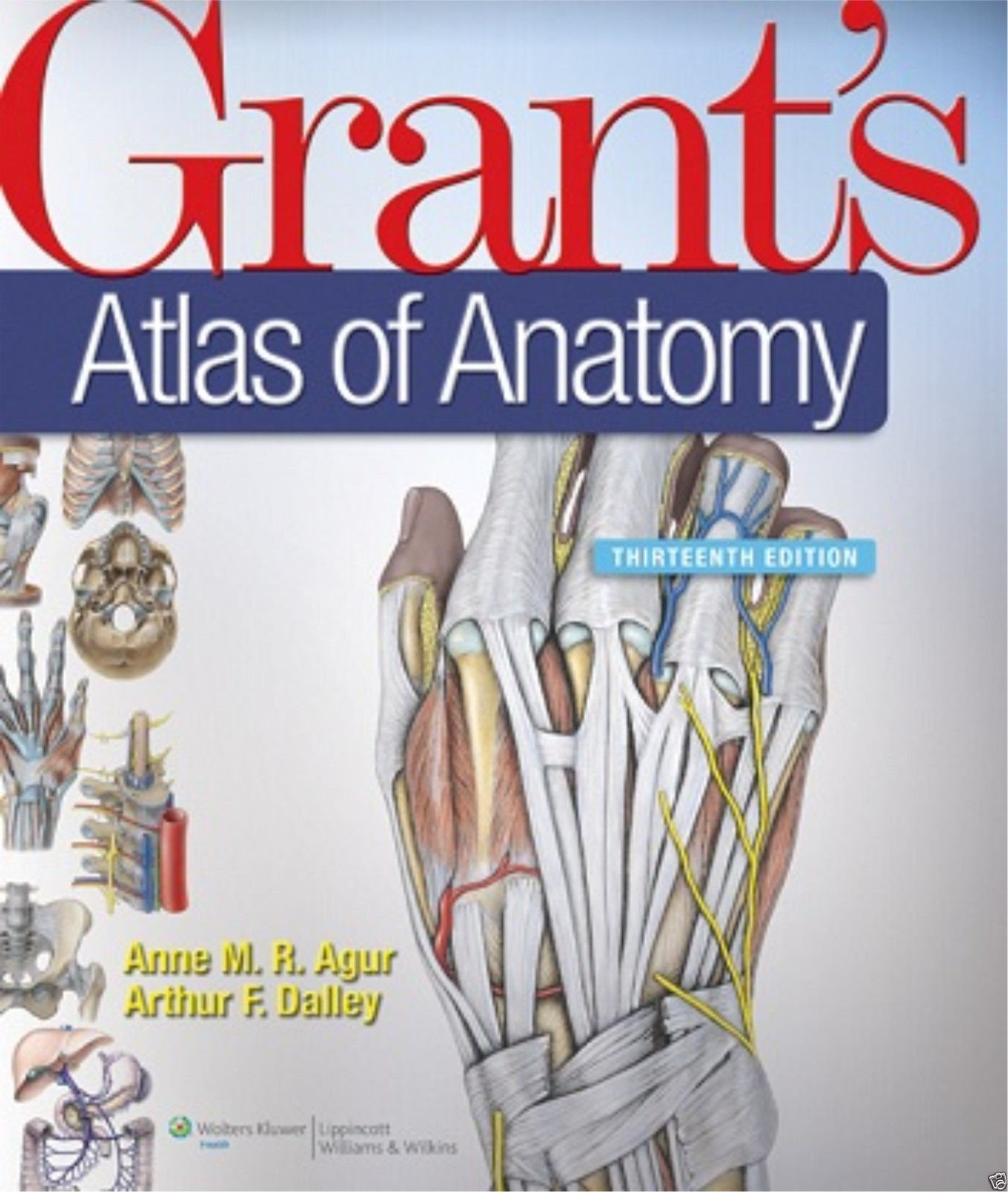 Grants Atlas Of Anatomy Anne M R Agur Arthur F Dalley