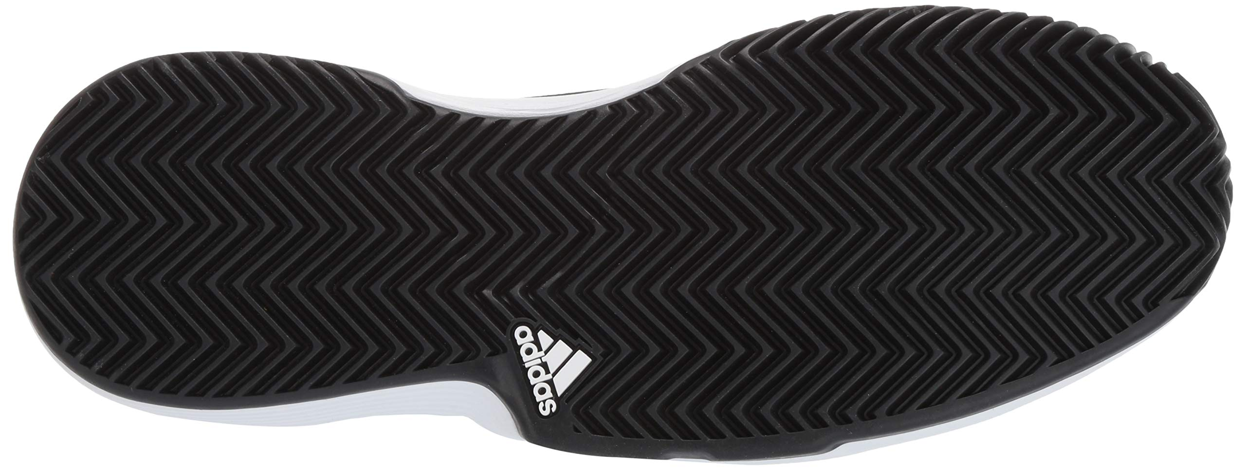 adidas Men's Gamecourt, Black/White/Shock red, 6.5 M US by adidas (Image #3)