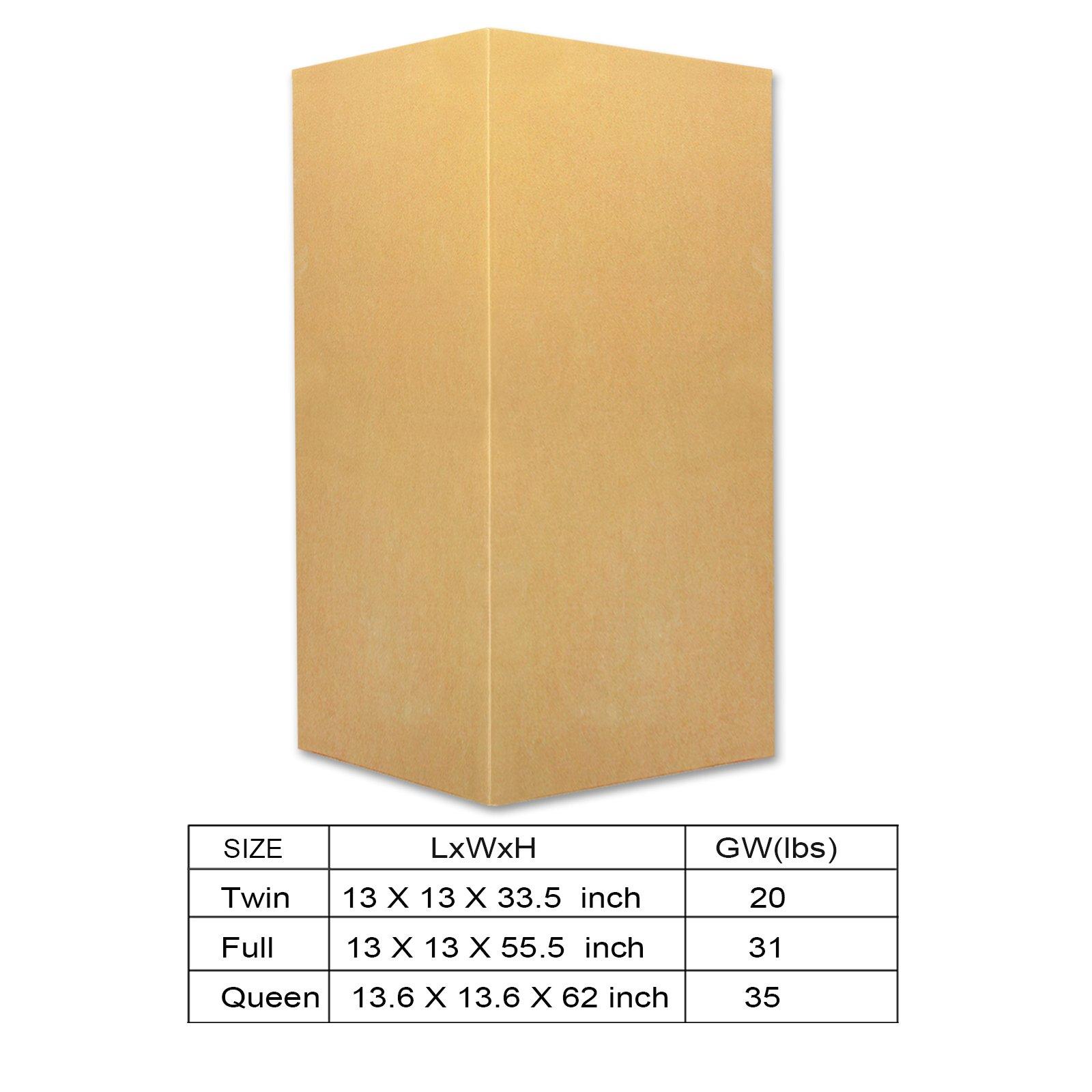 Zinus Cool Gel Memory Foam 5 Inch Sleeper Sofa Mattress, Replacement Sofa Bed Mattress, Queen