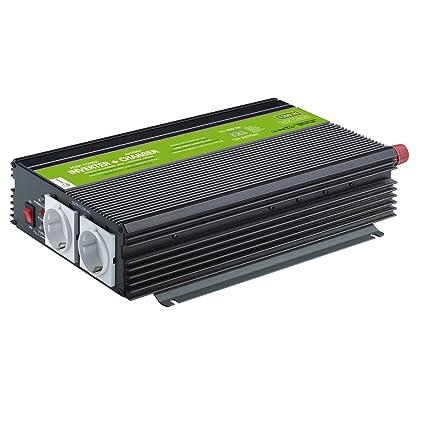 XUNZEL inversor de 1200 W/10 A/12 V Cargador de batería ...