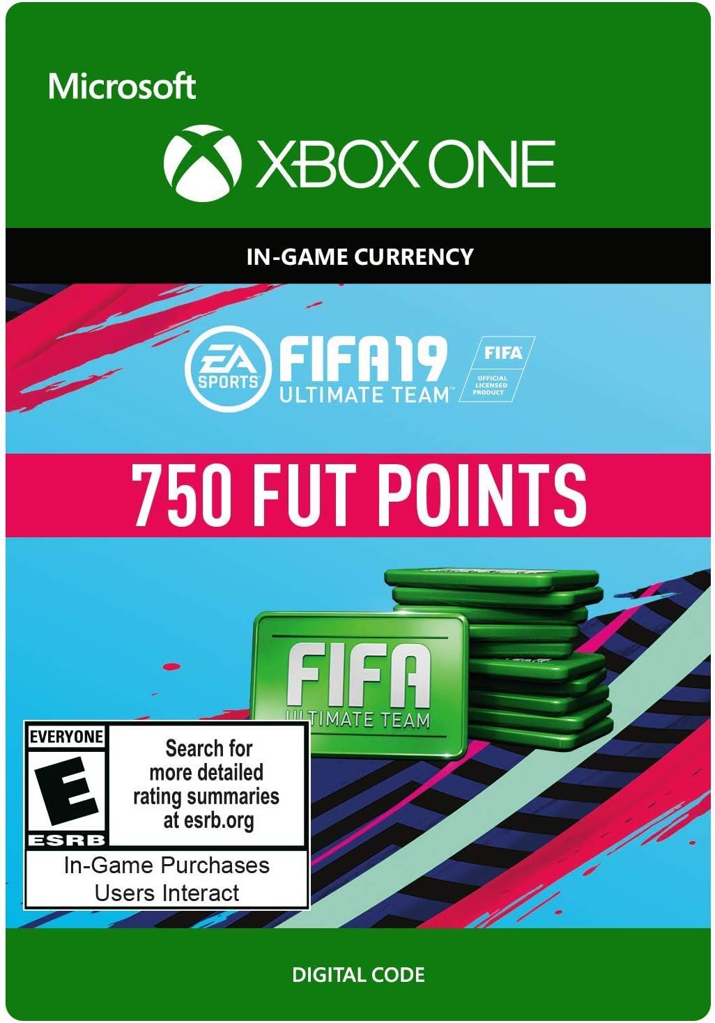 Amazon com: FIFA 19: ULTIMATE TEAM FIFA POINTS 750 - Xbox