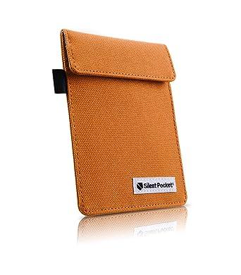Silent Pocket KEY FOB GUARD Protector For Wireless Car Keys - RFID Blocking  Faraday Cage (Hunter Orange)