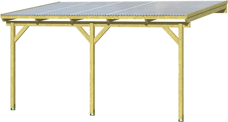 Skan Holz Pisa - Cubierta para terraza (500 x 300 cm, Trapezoidal ...